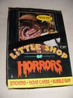 1987 Topps LITTLE SHOP OF HORRORS (36) Pack Wax Box