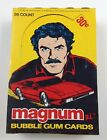 1983 DONRUSS MAGNUM PI TRADING CARDS WAX PACKS BOX NEW !!!! TOM SELLECK !!