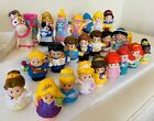 FISHER PRICE LITTLE PEOPLE DISNEY PRINCESS FIGURES Song Palace Castle Large Lot