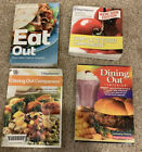 Lot of 4 Assorted weight watchers Books Dining Out  and Complete Food Companion