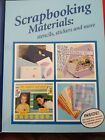 SCRAPBOOKING MATERIALS stencils stickers  more by Bay Books NEW