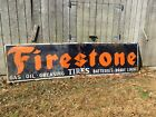 VINTAGE FIRESTONE TIRES & Service Two Piece Sign....14ftx42