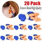 20304050x Soft Silicone Ear Plugs For Sleeping 25db Snoringnoise Reduction