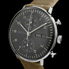 JUNGHANS MAX BILL CHRONOSCOPE AUTOMATIK CHRONOGRAPH DAY&DATE UHR 027/4501.00