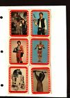 1977 Topps Star Wars Sticker Card Set OF 11 Series 4 Green Good TO Very Good