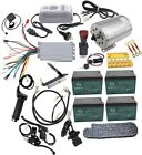 48v 1800w Brushless Electric Motor Controller Throttle Pedal Battery Charger