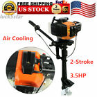 35HP 2 Stroke Outboard Motor Boat Engine Air Cooling System for Inflatable Boat