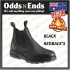 Redback UBBK Non Safety Work Boots Elastic Sided Bobcat Leather AUSTRALIAN MADE