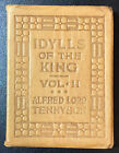 Little Leather Library IDYLLS OF THE KING VOL II by Alfred Lord Tennyson