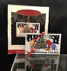 Hallmark 1994 Keepsake Christmas🎄 Ornament U.S. Christmas Stamps with Stand NIB