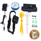Pet Underground Shock Collar Waterproof Electric Dog Fence Fencing System Kit US