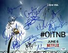Orange Is The New Black Cast (13) Signed Authentic 11X14 Photo PSA DNA #Y07991