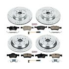 K6707 Powerstop Brake Disc and Pad Kits 4 Wheel Set Front  Rear New for G Class