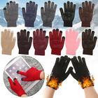 Sport Cycling Gloves Full Finger Mittens Knitted Wool Mitts Touch Screen Gloves
