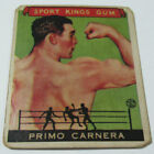 1933 Goudey Sport Kings Primo Carnera #43 Boxing Card High Number