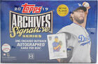 2019 Topps Archives Signature Series Active Edition Hobby Box - Sealed - 1 Auto