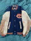 Chicago Bears HOF NFL Brian Urlacher William Perry Auto Throwback Jacket Mirage