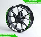Kawasaki ZRX 1200 R Wheel Decals Rim Stickers ZRX1200R ZX ZXR NINJA