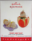 2016 Hallmark Pansy and Tulip #2 Baby Fairy Messengers NEW MINT