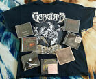 Gorguts Complete Discography + Tour Shirt DEATH SPEED GORE METAL CANNIBAL CORPSE