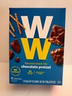 Weight Watchers NEW Chocolate Pretzel mini Snack Bar 12ct exp01 2021