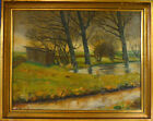 UNINDENTIFIED ARTIST SCENERY FROM HOLMEGAARD DK NO RESERVE