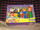 Limited Ed. Pez Dispenser Set My Friends Disney Tigger/ Pooh/ Darby/ Buster New