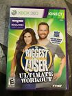 Biggest Loser Ultimate Workout Microsoft Xbox 360 2010 Kinect