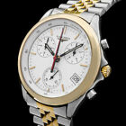 LONGINES FLAGSHIP 18K/750 GOLD./STAHL CHRONOGRAPH 674.2 SAPPHIRE SWISS UHR 7144