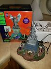Spooky Town Lemax Halloween Village~Angel of Death~Lighted Animated Table Accent