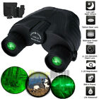 Day Night 10x25 Military Zoom Powerful Binoculars Optics Hunting Camping+Case US