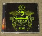 Overkill - Wrecking Your Neck Live (CD, 1995, 2 Discs, CMC International)