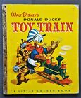 A Little Golden Book - Walt Disney Donald Ducks Toy Train 1950 - Great Condition
