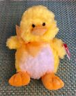 """Original TY Beanie Babies Collection """"Coop"""" Yellow Chick Plush 2006"""