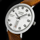 LONGINES ADMIRAL FIVE STARS ROULETTE DAY&DATE AUTOMATIK 508 UHR + KAUFMANN-BAND