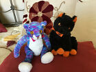 Lot of 2 Retired Ty Beanie Babies - Cats – Fraidy and Kooky