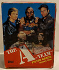 1983 TOPPS THE A TEAM TRADING CARDS WAX PACKS BOX - FULL UNUSED