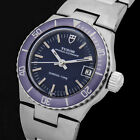 TUDOR 9321 PRINCESS OYSTERDATE CHRONO-TIME PURPLE AUTOMATIK SWISS UHR + REV. NEU