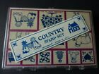Country Living Foam Mounted Rubber Stamp Set by Inkadinkado