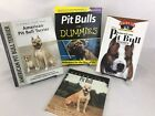 4 Book Lot Pit Bulls For Dummies American Pit Bull Terrier Dog Breed Training