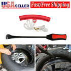 Tire Spoon Lever Iron Tool Kit For Motorcycle Bike With Wheel Rim Protector