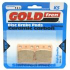 Rear Disc Brake Pads for Daelim SL 125 Otello Fi 2009 125cc  By GOLDfren