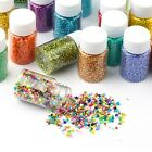 45 Jars LOT 2mm Czech Glass Seed Beads NecklaceBraceletEarring Jewelry Crafts