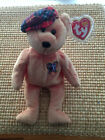 TY Beanie Baby CHARITEE PGA Bear  w/ tag protector Brand New 1st Class Shipping
