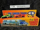 Sunoco Toy Tanker Truck First Of A Series + 3 FREE BONUS SHELL CARS RARE CAR-4