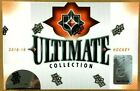 2018 19 Upper Deck Ultimate Collection Hockey Hobby Box FREE PRIORITY SHIPPING!!