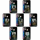 AMC THE WALKING DEAD SEASON 9 QUOTES BLACK HYBRID GLASS CASE FOR HUAWEI PHONES