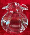 TIFFANY  CO PERFECT SMALL GLASS VASE STAMPED MINT CONDITIONFAST SHIPPING