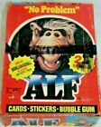 1987 Topps Alf TV Show Series 2 Sealed Box 48 Trading Card Packs