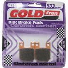 Front/Rear Disc Brake Pads for CPI Supercross 50 2009 50cc  By GOLDfren